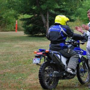 Adventure, dirt class, adult riding, KLR, GS, training