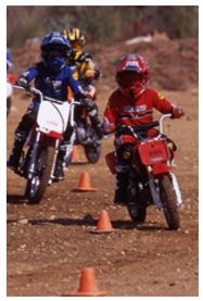 Learn to Ride, dirt bike, great for kids, MSF, motorcycles, Rider Coach