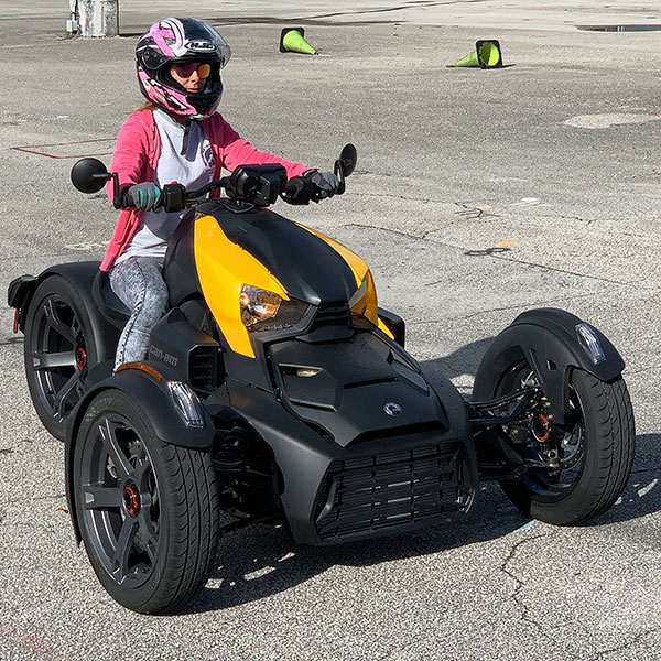 Can-Am Motorcycle training, Ride a Ryker, Motorcycle Training, Learn to ride